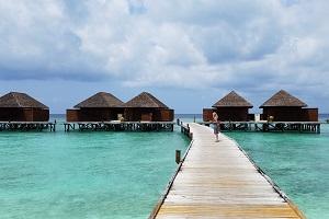 Malediven Bungalow