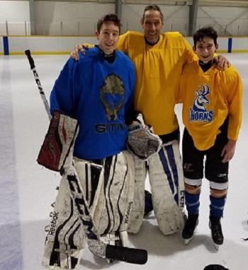 Bruno mit Söhnen